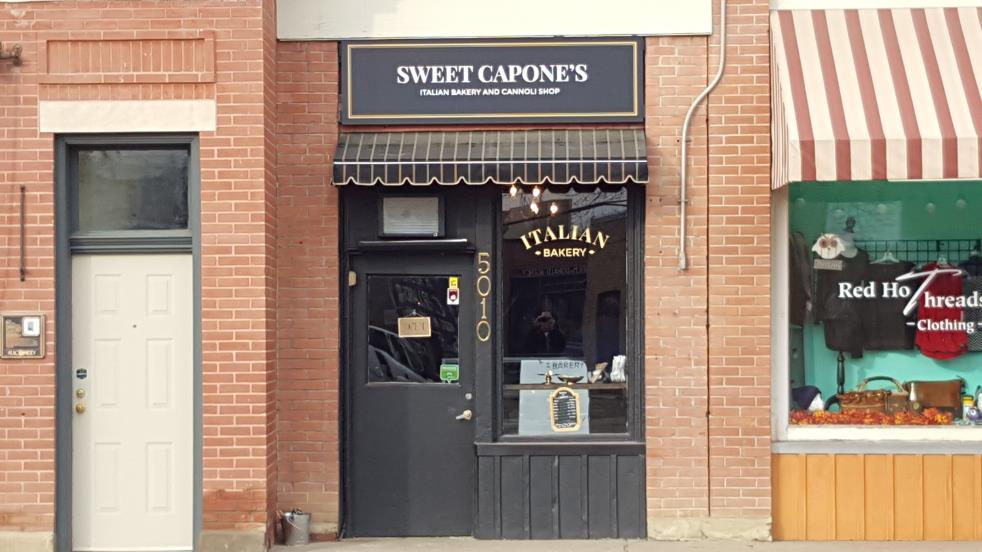 Sweet Capones Italian Bakery and Cannoli Shop Storefront